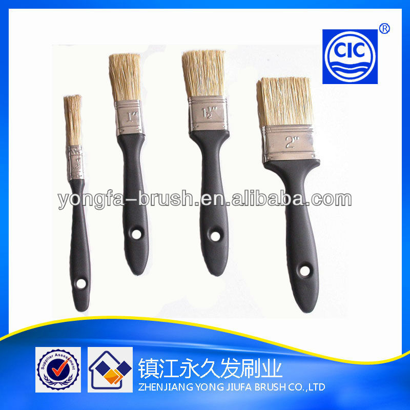 High quality plastic handle paint brushes supplier industrial brushes