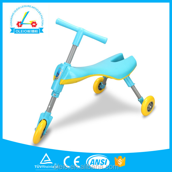 2017 new design kid tricycle/kids ride on car/child scooter