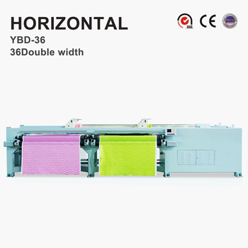 YBD36 intelligent Horizontal Quilting Embroidery Machine double width 50.8mm needle distance