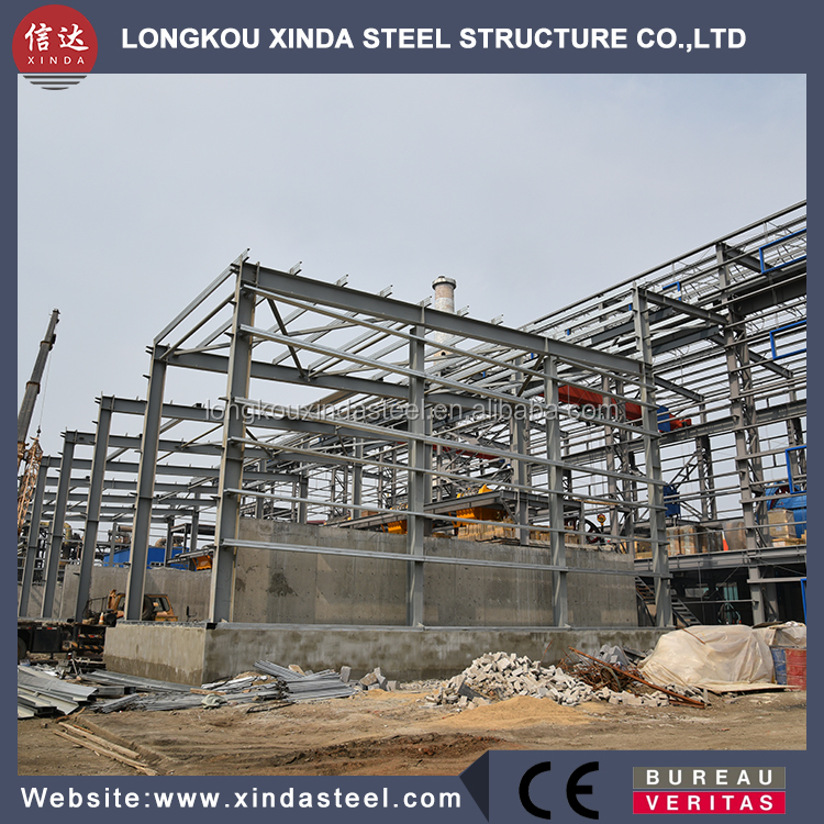 OEM accepted steel frame home