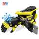 Wholesale AR 3D battle game plastic robotic electric jelly crystal bullet shooting toy gun for kids