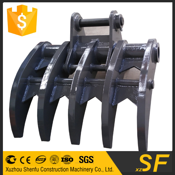 Hot sell for worldwide competitive price for high quality excavator root rake