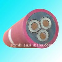 3.6/6KV Mobile shielding flexible cable with monitoring cores