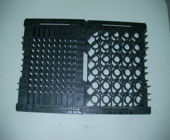 Plastic injection mold of medical equipment