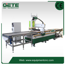 equipments producing auto loading nesting cnc router machine,auto unloading production line wood furniture cutting machine