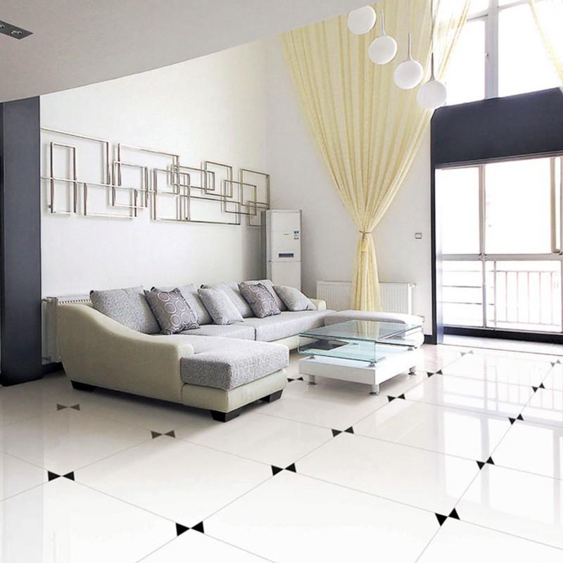 슈퍼 흰색 광택 도자기 바닥 타일-타일 -상품 ID:634967892-korean ...