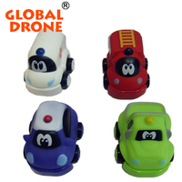Q version inertia mini baby toy car with healthy material