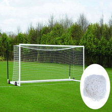 HDPE Nylon Soccer tennis goal net with poles, Portable tennis net