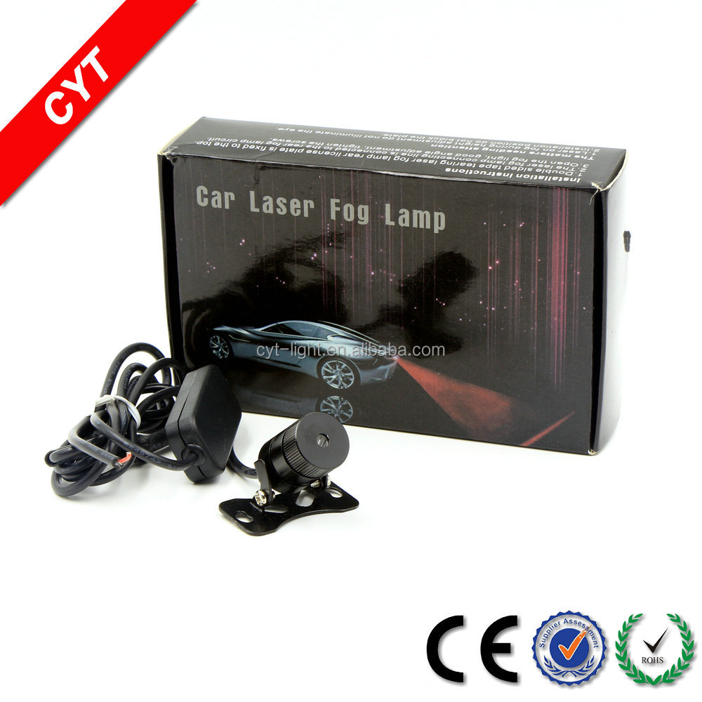 High quality 30W 12V Red light Car/Motorcycle Laser Warning light