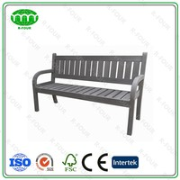 Recyclable Plastic Wood Garden Bench Polywood Outdoor Furniture Sofa