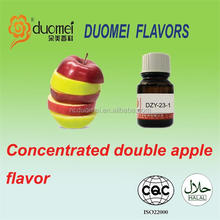 E High Concentrated PG/VG Double Apple liquid flavor/flavour/essence, vaporize oil flavor