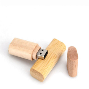 wholesale custom logo u disk sticks flash memory bulk wooden bamboo usb wood pendrive in wooden box