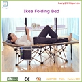 Camping Hiking Folding Cot Bed Portable Outdoor Sleeping Steel Frame