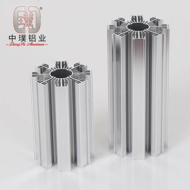 3-extruded aluminum heat sink for led lights