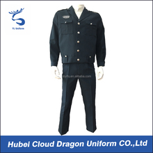 High quality officer uniform mens dress shirt and pants for security guard