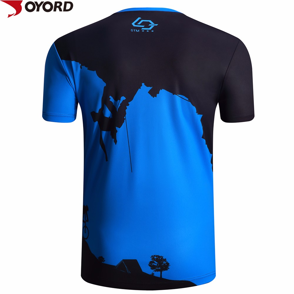Custom dry fit 100 polyester sports wear sublimation t for Custom dry fit shirts