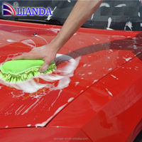 Hot Sale Microfiber car wash sponge with handle