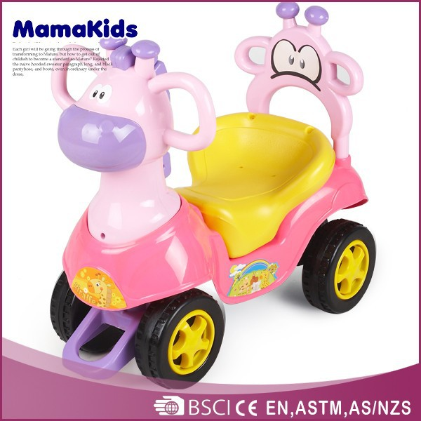 The most popular baby toys wholesale hot-selling 2015 lovely childrens ride on plastic car