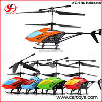 Hot selling Easy to Fly durable king 2 Channel RC helicopter cheap toys on sale