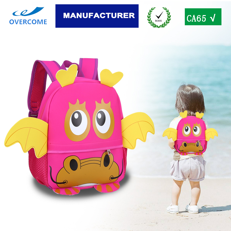 kindergarden backpack children new animal cartoon kids bag