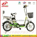 GUANGZHOU KAVAKI factroy 48V250W Two wheel Electric Bike With Rear Shock Absorber