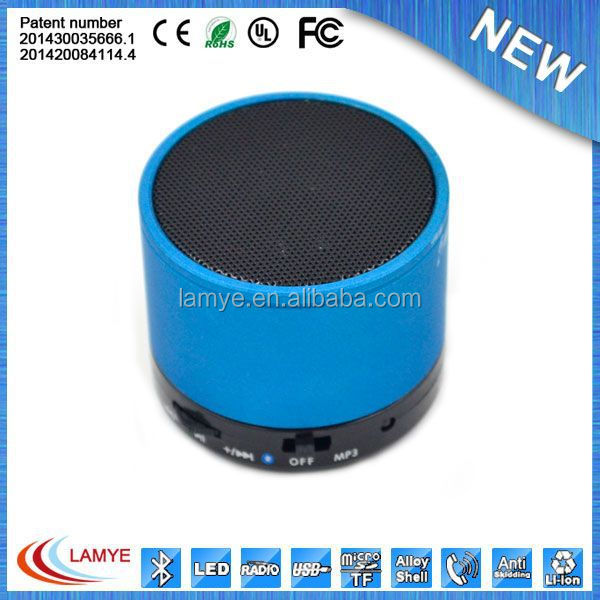 2018 promotional gift items, promotional logo printed mini digital speaker