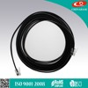 White 6P6C RJ12 Telephone Cable