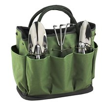 Best Canvas Bucket Garden Tool Tote Bag with Pockets for Kids
