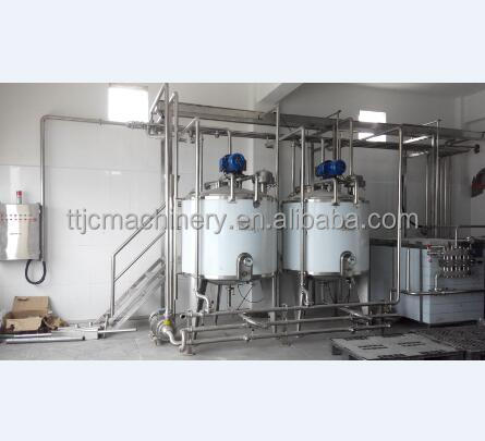 Butter processing plant/dairy plant machinery/milk processing line