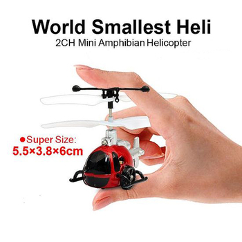 rh-7131305 mallest in the world 2CH Mini Amphibian RC Helicopter