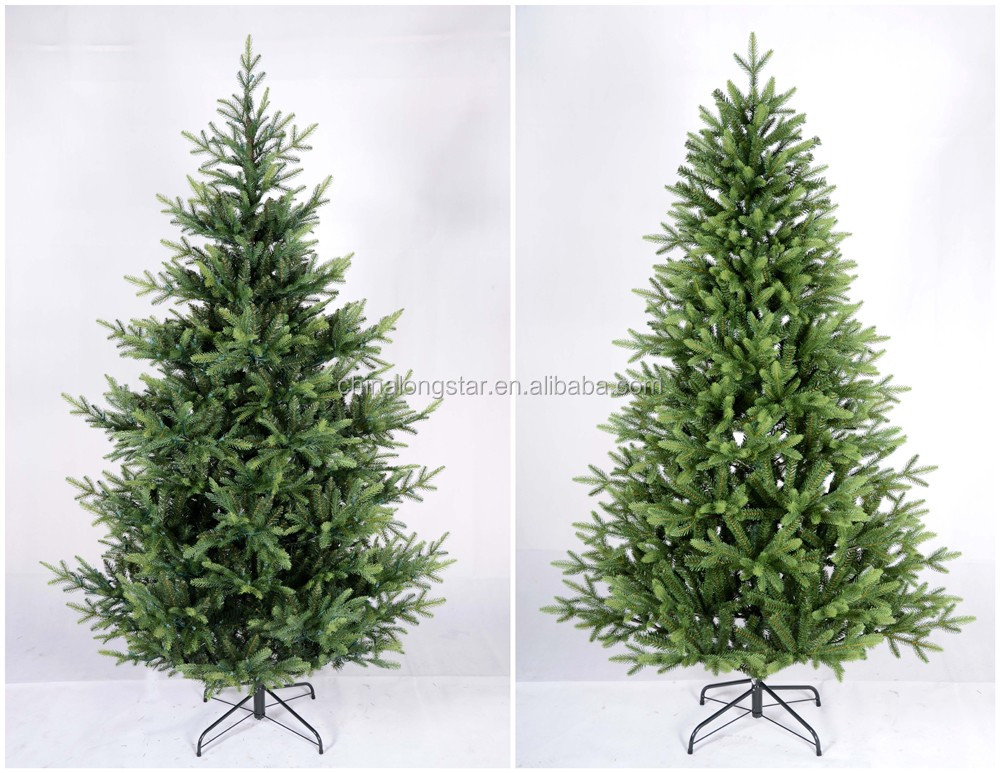 High Quality Prelit PE/PVC Christmas Tree With LED Lights