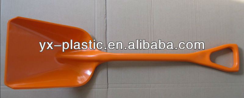 agriculture shovel and spade with plastic head and plasic hand