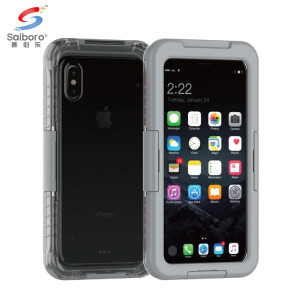 SAIBORO Low Moq pc tpu silicone case for iphone x case 360 full cover water proof