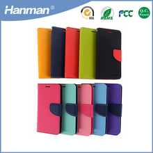 Trade assurance pu flip leather smartphone case for samsung c7000