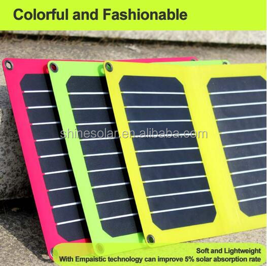 High efficiency mini solar cell 5v foldable small size solar panel