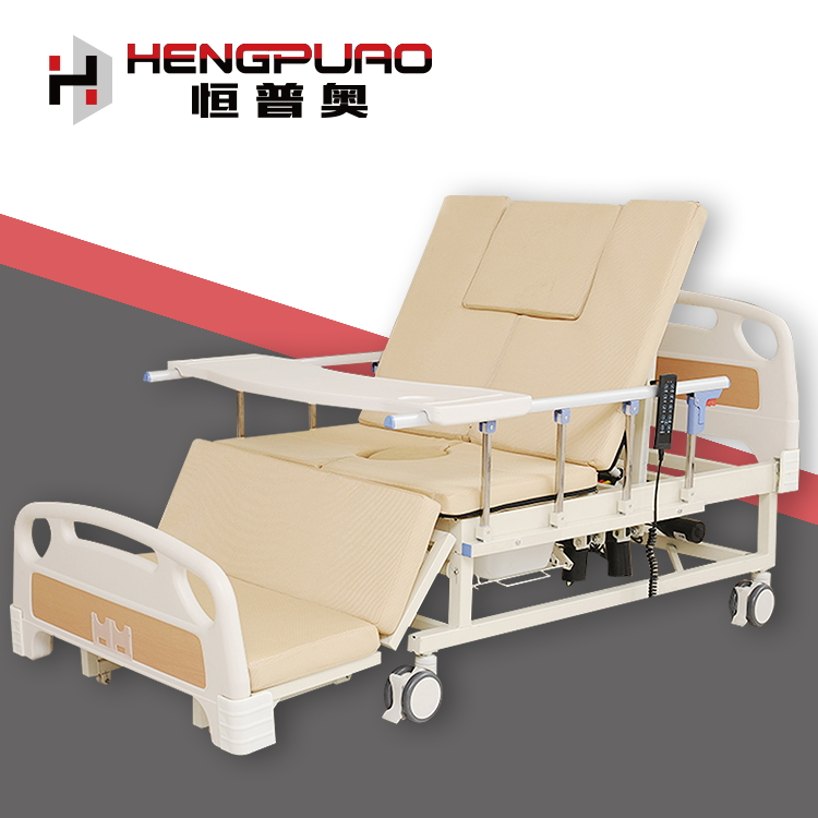 patient care medical folding electric hospital beds for home use