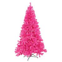 2015 Hot Selling 210CM Pink Aritifical Traditonal Christmas Tree