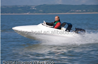 FIBERGLASS SMALL WATER MOUSE SPEED BOAT C-320