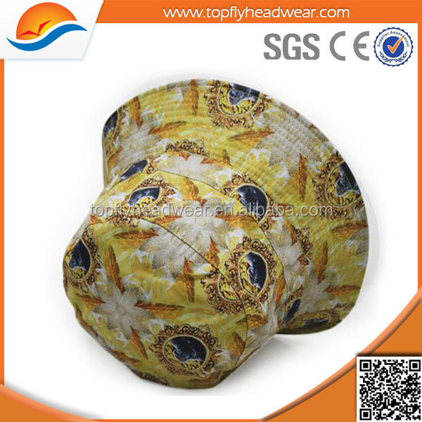 wholesale promotional custom sublimation cap all over print bucket hats