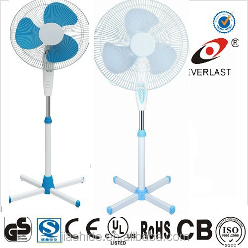 "16"" stand fan with adjustable height electric stand fan"