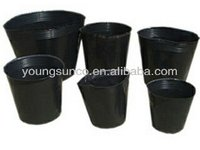 black nursery pots plastic nursery pots for small plants
