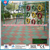dou Sidewalk outdoor safety rubber flooring Kindergarten rubber mat colorful rubber paver