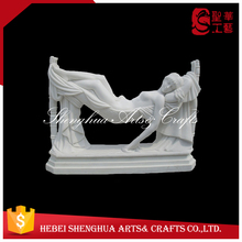 marble lady garden statue