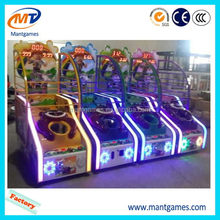 Good quality Small basketball/promotional merry go round indoor games for kids