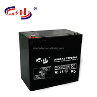 12v Voltage deep cycle battery 12V65Ah SMF batterries General Maintenance Type dry batteries for ups