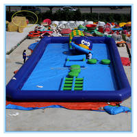 Plato PVC Material Inflatable Floating Water
