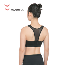 Top Selling Custom Elastic Yoga Vest Sport Gym Wear Womens Sports Bra