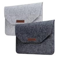 Soft Wool Felt For Macbook Air 13 Case Retina 13 Laptop Sleeve For Macbook Air 11 Retina 12 13 15 Sleeve Mouse Charge Cable Bag