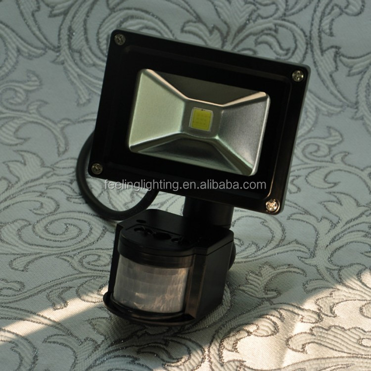 High quality cheap factory price 10w motion sensor led <strong>flood</strong> 110v 220v on sale made in china