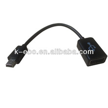mini USB OTG Cable Mini usb male to USB A female oem factory